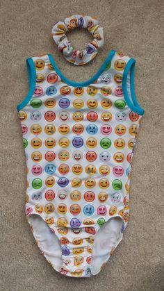 Emoji Girls Gymnastics Leotard