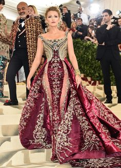Blake Lively Trades Ryan Reynolds for Christian Louboutin as 2018 Met Gala Date: See Her Dress!