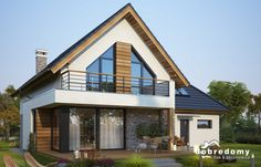 Modern Brick House, Modern Bungalow House, Modern House Design, Dream House Plans, Small House Plans, Future House, My House, Facade House, New Homes