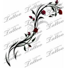 vines and roses tattoos - Google Search