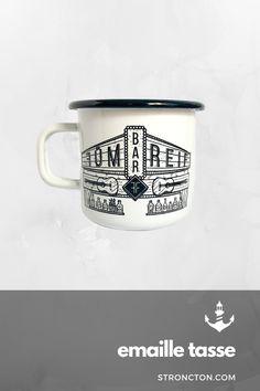 Fümreif X Stroncton Enamel Mug My Design, Enamel, Mugs, Heart, Tableware, Accessories, Coffee Mug, Vitreous Enamel, Dinnerware