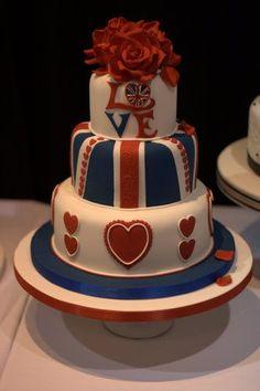 12 nouveauté union jack queens anniversaire drapeau edible cake toppers décorations fête