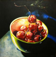 Martha Iler_Bowl of Grapes_web