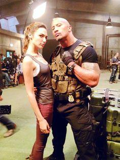 The Rock Dwayne Johnson, Dwayne The Rock, Rock Johnson, Vin Diesel, Paul Walker, Michelle Rodriguez, Gal Gardot, Gal Gadot Wonder Woman, Fast And Furious