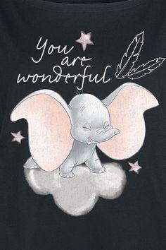 You Are Wonderful - Modern Funny Iphone Wallpaper, Disney Phone Wallpaper, Cute Wallpaper Backgrounds, Cute Cartoon Wallpapers, Dumbo Baby Shower, Baby Dumbo, Disney Fan Art, Disney Love, Mickey Silhouette