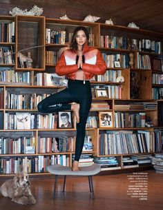 Supermodel Miranda Kerr graces the pages of ELLE France's July 7th, 2017 issue. Photographed by Jan Welters, the recent newlywed shows off yoga poses in the fashion editorial. Fashion editor Jeanne le Bault selects a mix of sweaters, swimsuits as well as jackets for Miranda to wear. The 34-year-old shines in the designs of Louis... [Read More]