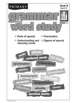 Primary grammar and word study blackline masters are designed for primary students as an introduction to basic concepts about parts of speech, such as adverbs, prepositions and determiners; understanding and choosing words, such as homophones, prefix. Easy Grammar, Grammar Rules, Prefixes, Adverbs, Prepositions, Abc School Supplies, Adverb Activities, English Activities, Verb Words