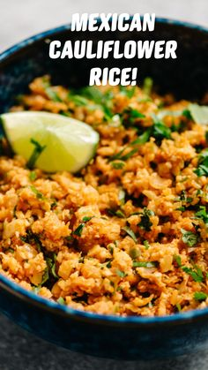 Heart Healthy Recipes, Rice Recipes, Side Dish Recipes, Mexican Food Recipes, Low Carb Recipes, Whole Food Recipes, Cooking Recipes, Mexican Dinners, Taco Side Dishes