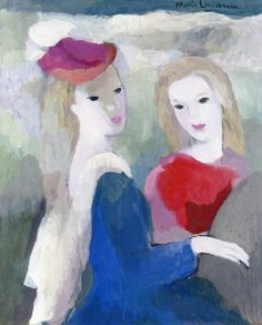 Two Young Women - Marie Laurencin - The Athenaeum