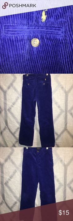 POLO Ralph Laure boys corduroy pants size 6 Preowned condition ... Bundle multiple items and save on shipping 😊 Polo by Ralph Lauren Bottoms Casual