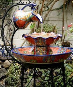 water fountain in the garden♥♥