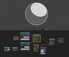 Blender2.8でトゥーンシェーダーを作る!│もろりんのブログ Blender 3d, 3d Design, Game Design, Blender Addons, Blender Tutorial, 3d Model Character, 3d Light, Modelos 3d, 3d Tutorial