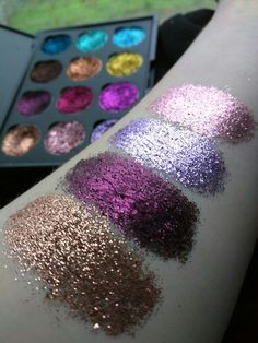 Big Sky glitter palette, $32 + Free shipping WORLDWIDE, Vegan, cruelty-free, handcrafted glitter eyeshadow palettes