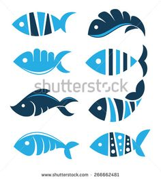 Tuna Fish Stock Vectors & Vector Clip Art | Shutterstock