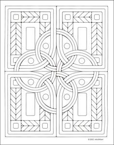 Celtic Designs Coloring Pages Mosaics Coloring Book Details Rainbow Resource Colouring Pages For Kids Celtic Knot Mandala Coloring Page – comicstrades. Celtic Patterns, Celtic Designs, Coloring Book Pages, Printable Coloring Pages, Abstract Coloring Pages, Zentangle Patterns, Quilt Patterns, Mosaic Patterns, Zentangles
