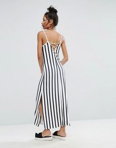 b/w stripes are on-trend--ASOS dresses