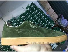 PUMA SPORTSTYLE SUEDE Gum Outsole Green Men New Style 940d2b9c7