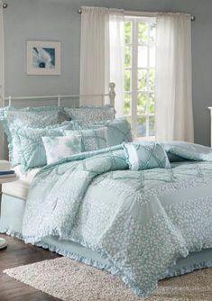 Luxury Bedding Sets For Less Referral: 9758192167 Aqua Bedding, Blue Comforter Sets, Cotton Bedding Sets, King Duvet Cover Sets, Duvet Covers, How To Clean Pillows, Bedding Sets Online, Cozy Bed, Luxury Bedding