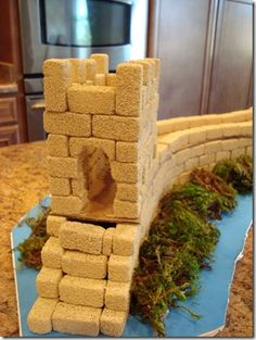 China Craft ~ The Great Wall | Confessions of a Homeschooler
