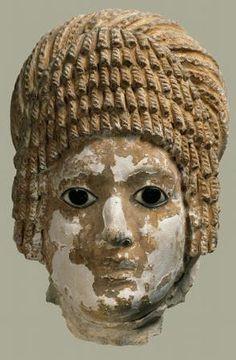 Masque funéraire - Musée des Beaux Arts de Lyon