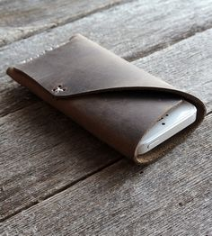 Rugged Leather iPhone 5/iPhone 5s Sleeve | Women's Accessories | Stock & Barrel | Scoutmob Shoppe | Product Detail