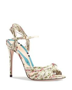 a8505807b5c GUCCI Allie Knotted High Heel Sandals.  gucci  shoes  sandals