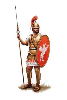 Римский центурион, вторая половина II века до н.э.