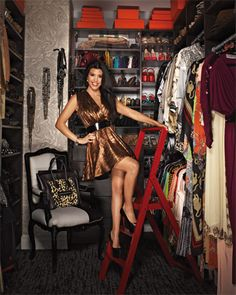 Kourtney Kardashians closet | The House of Beccaria#