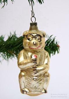 THE OLD CHRISTMAS STATION - German Glass ornaments :: Animals :: Figural Glass :: Victorian :: Wire Wrapped :: Kugels :: EOD :: free blown o...
