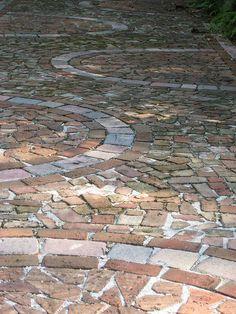 Old brick, pattern