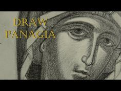 Byzantine Icons, Painting Videos, Virgin Mary, Draw, Film, Movie Posters, Youtube, Sacred Art, Tutorials