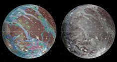 (IRIN) -. An international team of scientists has produced the first geological map of Ganymede, the seventh moon of Jupiter.
