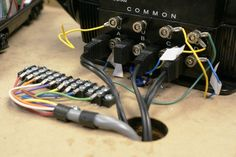 Wire layout basics. Since no two model railroads are exactly the same, no two model railroads will be wired exactly the same. There are however standards that should ensure that all model railroads are wired the same ...An inexpensive electrical test meter is a great tool to keep on hand as you go. A simple light bulb can also be used to test many circuits – much easier and less risky than experimenting with a LEGACY locomotive!