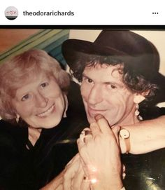 Keith & Doris ♥♥ The official Rolling Stones app
