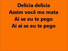 Michel Telo - Ai se eu te pego lyrics Costa Rica theme song, despite the fact it is Portuguese. Best Spanish Songs, Portuguese Language, Theme Song, Close To My Heart, Youtube, Social Platform, Song Lyrics, My Music, Cover