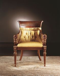 Zanaboni Salotti Classici S.N.C. From Italy. Sculpted Seating.