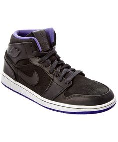 Nike Men's Ebernon Mid Premium Casual Sneakers from Finish Line jhyqk6rD