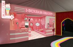 How experiential beauty pop-ups are bringing customers back to the high street Makeup Storage Wall, Sephora, Corporate Event Design, Boutique Decor, Co Working, Salon Design, Cafe Interior, Booth Design, Commercial Interiors