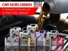 Η ιδανική επιλογή λαδιών για το δικό σου όχημα είναι #Liqui_Moly!  ☎️ 2315534103 📱6978976591 ➡️ ΠΟΛΥΤΕΧΝΙΟΥ 18 ΕΥΚΑΡΠΙΑ ΘΕΣΣΑΛΟΝΙΚΗΣ  #carmotodesign #οικαλύτερεςτιμές #οτιαναζητάς #θατοβρείςεδώ #becarmotodesigner Moto Design, Car, Automobile, Vehicles, Autos