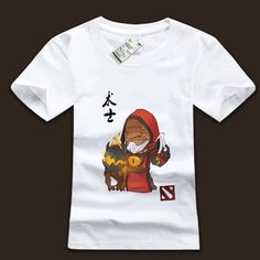 DOTA 2 Warlock Defense Of The Ancients graphic tees | Wishining