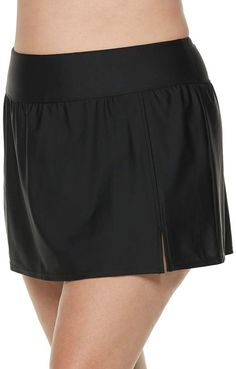 Croft & Barrow Plus Size Tummy Slimmer High-Waisted Skirtini Bottoms Plus Size Ivory Dresses, Tummy Slimmer, Plus Size Beauty, House Dress, Womens Size Chart, Plus Size Wedding, Plus Size Womens Clothing, Plus Size Swimwear, Swim Dress