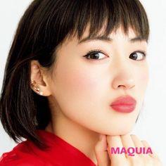 綾瀬はるか Beautiful Japanese Girl, Japanese Beauty, Asian Beauty, Short Hair Cuts, Short Hair Styles, Japanese Wife, Japanese Models, Face Shapes, Bob Hairstyles
