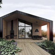 Top Home Design 100 Impressive Hillside House Design Models 20 Design Exterior, Modern Exterior, Modern Barn House, Modern House Design, Beton Design, Scandinavian Style Home, Hillside House, Cabin Design, Loft Design