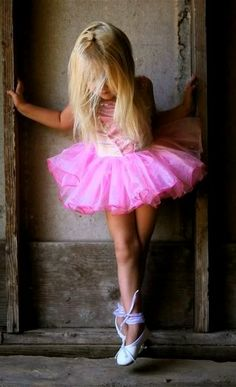 Little Girl Dancer