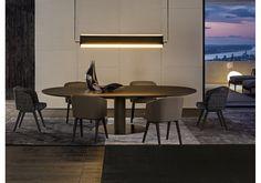 Bellagio Dining Wood Minotti Table - Milia Shop