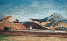 The Railway Cutting by Paul Cézanne