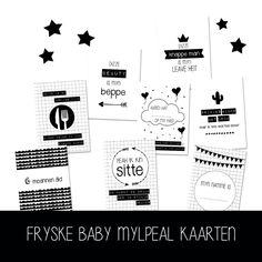 Friese baby mijlpaalkaarten