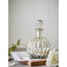 Mercuried Glass Apothecary Bottle