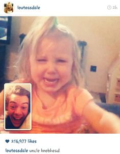 Hahaha low Lou's comment. Lux and Harry r so cute