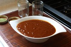Recipe for making a homemade tamarind bbq sauce with traits from the Caribbean. This bbq sauce is great on meats and can also be used as a dipping sauce for . Tamarind Bbq Sauce, Tamarind Recipes, Barbecue Sauce, Bbq Sauces, Tamarindo, Dressings, Sauce Recipes, Cooking Recipes, Vegan Recipes